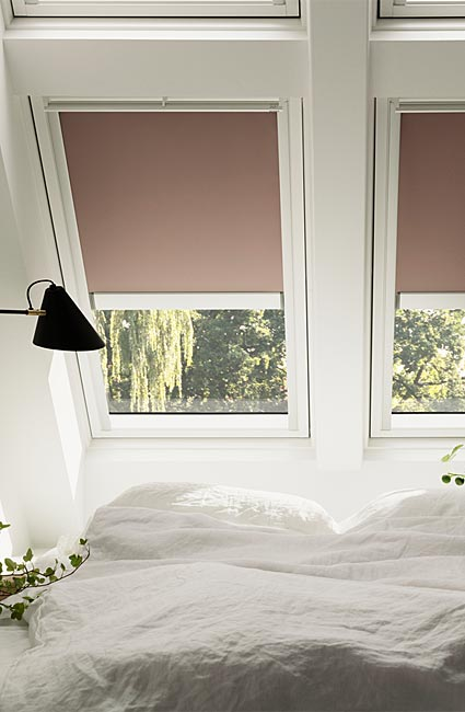 Roof blinds and shutters from Velux